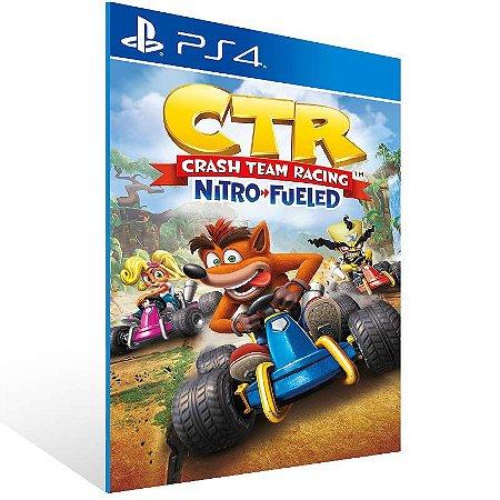 Crash Team Racing Nitro-Fueled - Ps4 Psn Mídia Digital