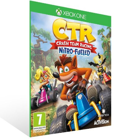 Crash Team Racing Nitro-Fueled - Xbox One Live Mídia Digital