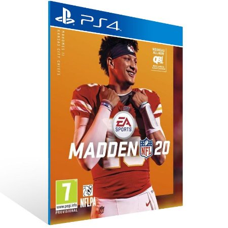 Madden NFL 20: Standard Edition - Ps4 Psn Mídia Digital