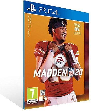 Madden NFL 20: Standard Edition - Ps4 Psn Mídia Digital