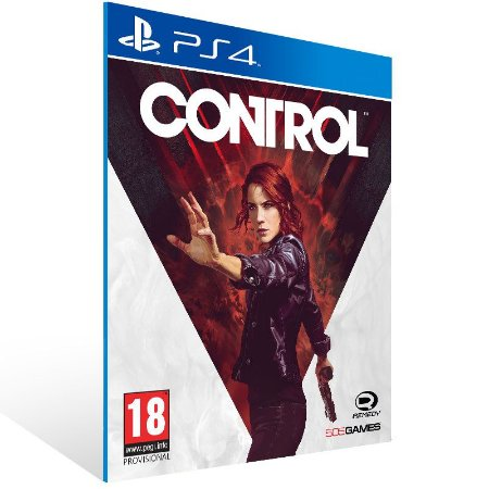 Control - Ps4 Psn Mídia Digital