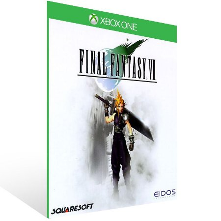 Final Fantasy 7 - Xbox One Live Mídia Digital