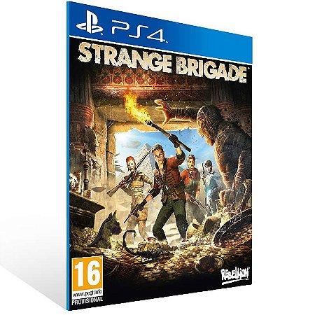 Strange Brigade - Ps4 Psn Mídia Digital