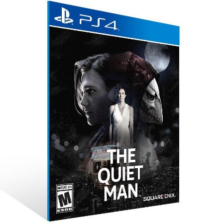 The Quiet Man - Ps4 Psn Mídia Digital