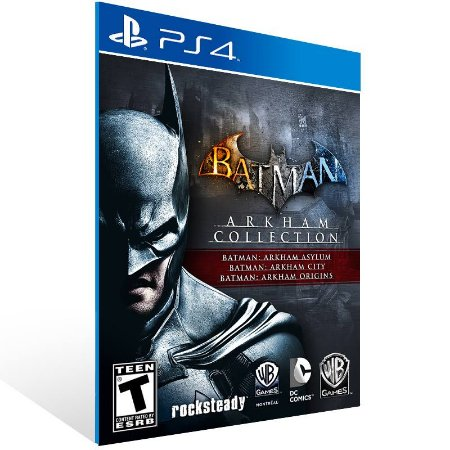 Batman: Arkham Collection - Ps4 Psn Mídia Digital