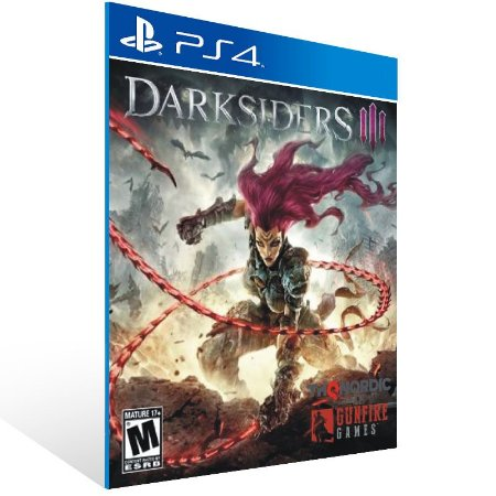Darksiders 3 - Ps4 Psn Mídia Digital