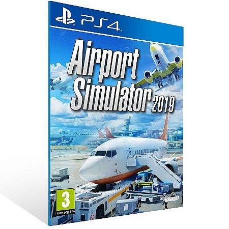 Airport Simulator 2019 - Ps4 Psn Mídia Digital
