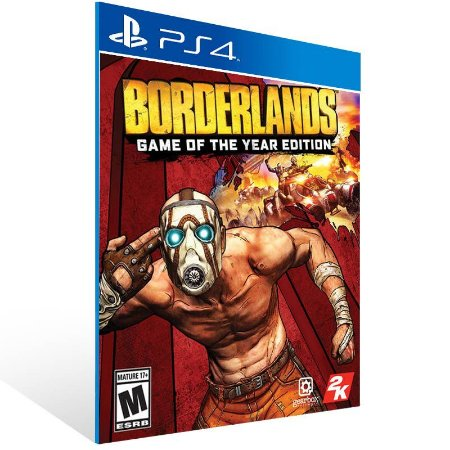 Borderlands: Game of the Year Edition - Ps4 Psn Mídia Digital