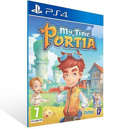 My Time at Portia - Ps4 Psn Mídia Digital