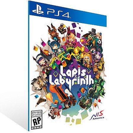 Lapis x Labyrinth - Ps4 Psn Mídia Digital