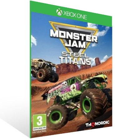 Monster Jam Steel Titans - Xbox One Live Mídia Digital