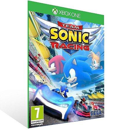 Team Sonic Racing - Xbox One Live Mídia Digital