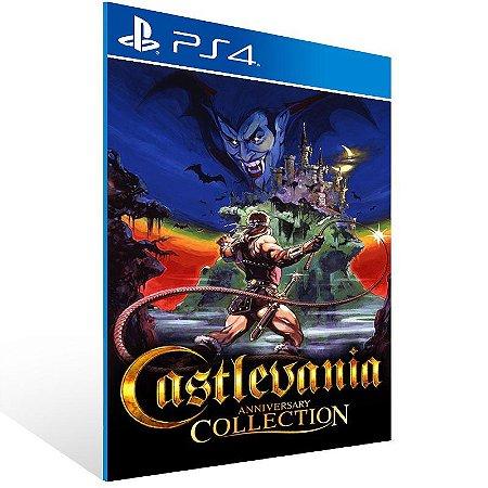 Castlevania Anniversary Collection - Ps4 Psn Mídia Digital