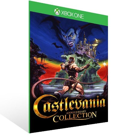 Castlevania Anniversary Collection - Xbox One Live Mídia Digital