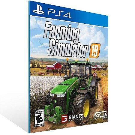 Farming Simulator 19 - Ps4 Psn Mídia Digital