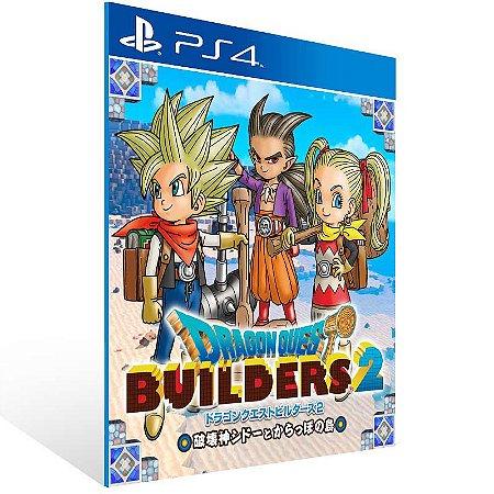 Dragon Quest Builders 2 - Ps4 Psn Mídia Digital