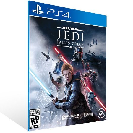 STAR WARS Jedi: Fallen Order - Ps4 Psn Mídia Digital