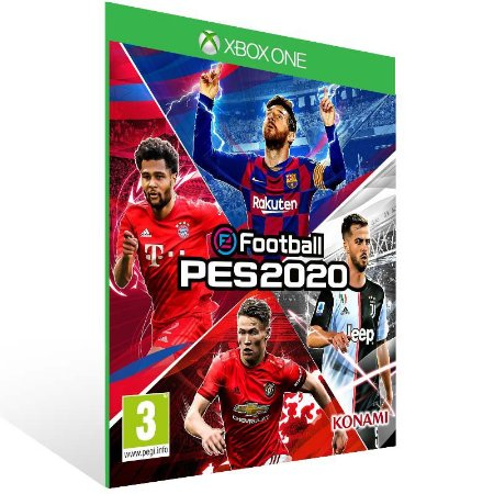 eFootball PES 2020 - Xbox One Live Mídia Digital