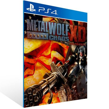 Metal Wolf Chaos XD - Ps4 Psn Mídia Digital