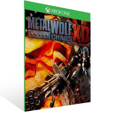 Metal Wolf Chaos XD - Xbox One Live Mídia Digital