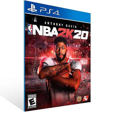 NBA 2K20 - Ps4 Psn Mídia Digital