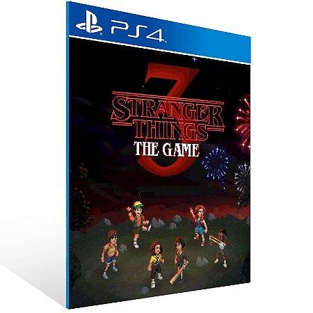 Stranger Things 3: The Game - Ps4 Psn Mídia Digital