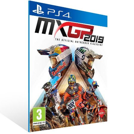 MXGP 2019 - Ps4 Psn Mídia Digital