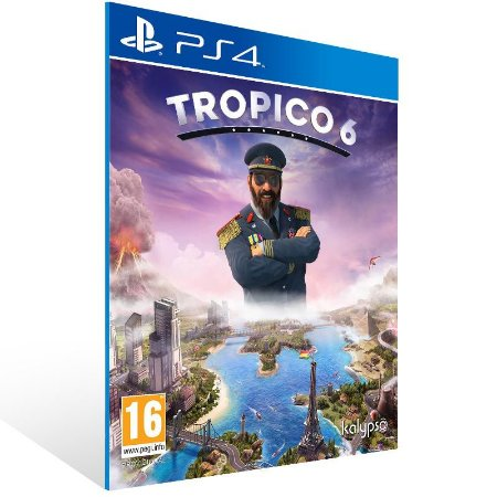 Tropico 6 - Ps4 Psn Mídia Digital