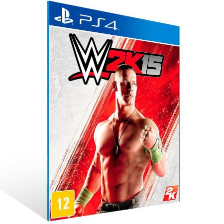 WWE 2K15 - Ps4 Psn Mídia Digital