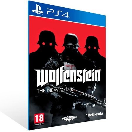 Wolfenstein - Ps4 Psn Mídia Digital