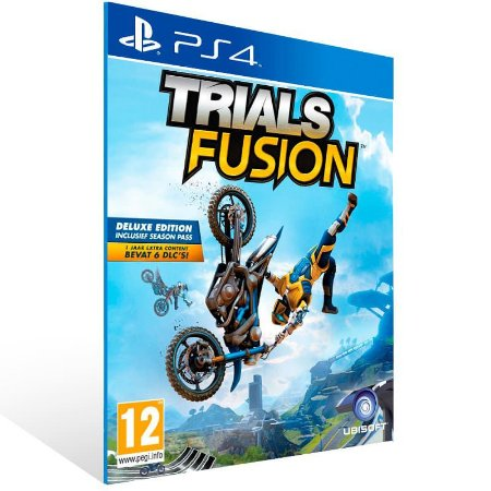 Trials Fusion - Ps4 Psn Mídia Digital