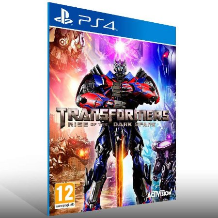 Transformers Rise of The Dark Spark - Ps4 Psn Mídia Digital