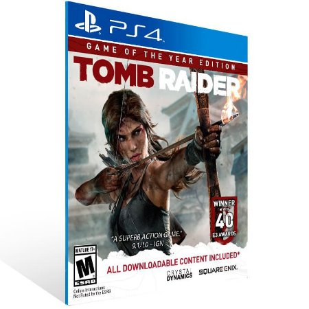 Tomb Raider Definitive Edition - Ps4 Psn Mídia Digital