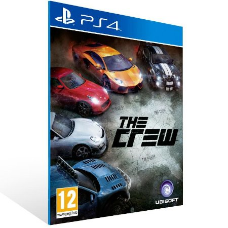 The Crew - Ps4 Psn Mídia Digital