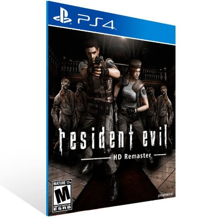 Resident Evil Hd Remaster - Ps4 Psn Mídia Digital