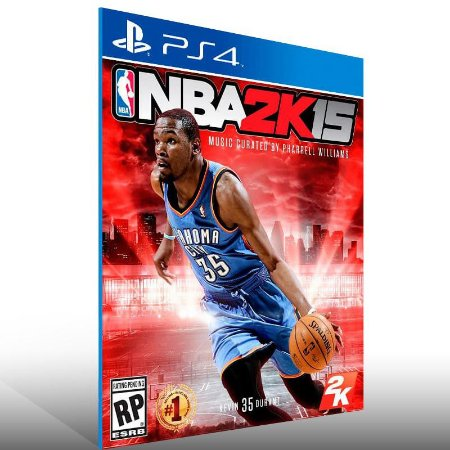 Nba 2K15 - Ps4 Psn Mídia Digital