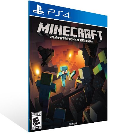 Minecraft - Ps4 Psn Mídia Digital