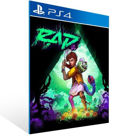 RAD - Ps4 Psn Mídia Digital