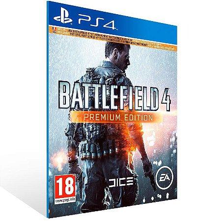 Battlefield 4 Premium Edition - Ps4 Psn Mídia Digital