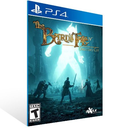The Bard's Tale IV: Director's Cut - Ps4 Psn Mídia Digital