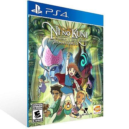 Ni no Kuni: Wrath of the White Witch Remastered - Ps4 Psn Mídia Digital