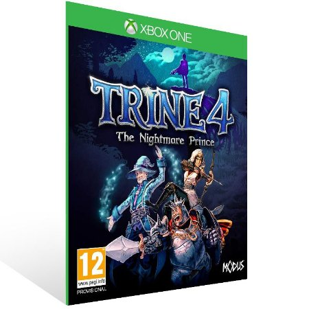 Trine 4: The Nightmare Prince - Xbox One Live Mídia Digital