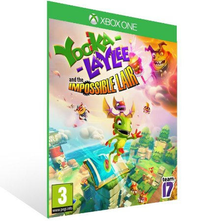 Yooka-Laylee and the Impossible Lair - Xbox One Live Mídia Digital