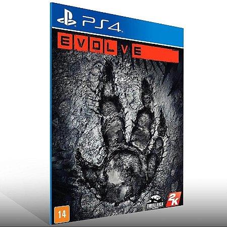 Evolve - Ps4 Psn Mídia Digital