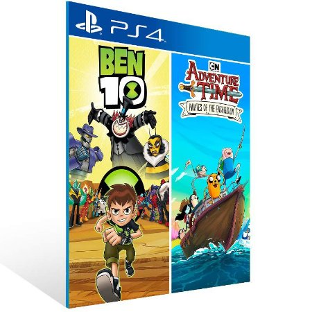 Ben 10 and Adventure Time: Pirates of The Enchiridion - Ps4 Psn Mídia Digital