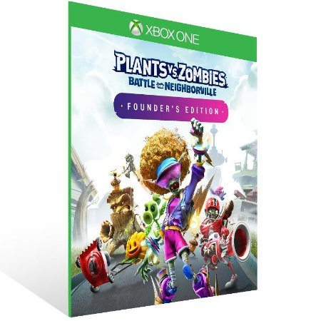 Plants vs. Zombies Battle for Neighborville Founder's Edition - Xbox One Live Mídia Digital