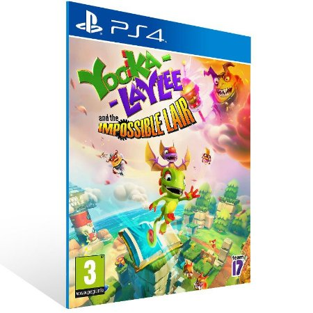 Yooka-Laylee and the Impossible Lair - Ps4 Psn Mídia Digital