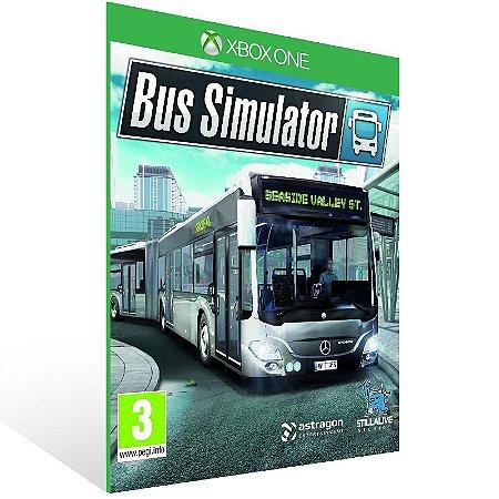 Bus Simulator - Xbox One Live Mídia Digital
