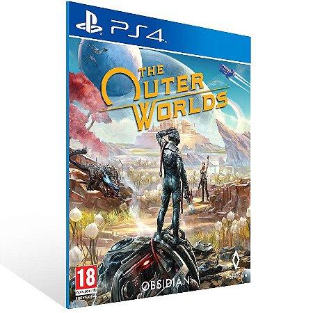 The Outer Worlds - Ps4 Psn Mídia Digital