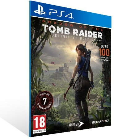 Shadow of the Tomb Raider Definitive Edition - Ps4 Psn Mídia Digital